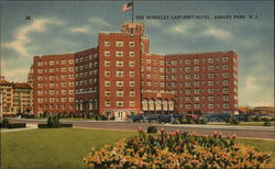 The Berkeley Cartaret Hotel Postcard