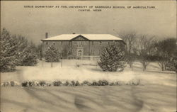 Girls Dormitory at the University of Nebraska School of Agriculture