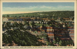 Bright Angel Lodge and Cabins, on the Canyon's Rim