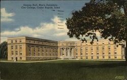 Greene Hall, Men's Dormitory, Coe College