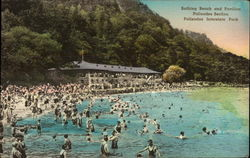 Bathing Beach and Pavilion, Palisades Section, Palisades Interstate Park