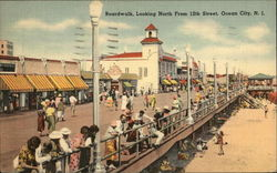 Boardwalk, Looking North from 12th Street