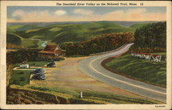 The Deerfield River Valley on the Mohawk Trail