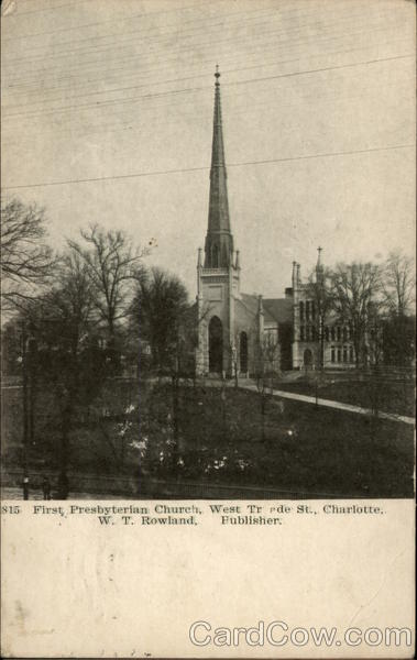 First Presbyterian Church, West Trade St Charlotte North Carolina