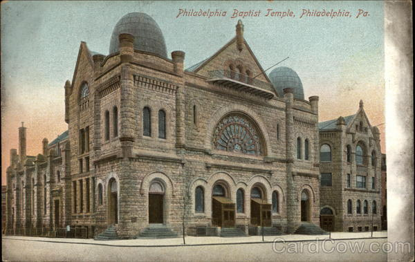 Philadelphia Baptist Temple Pennsylvania