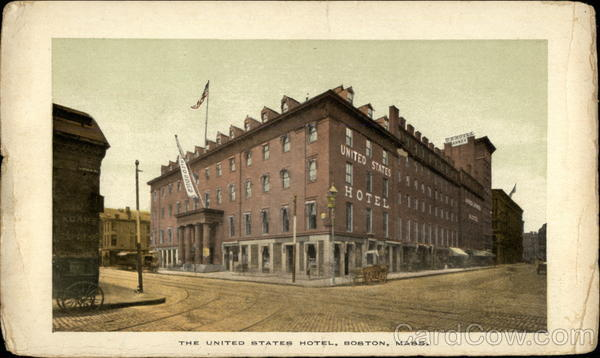 The United States Hotel Boston Massachusetts
