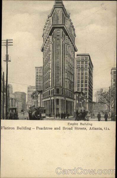 Empire Building - Flatiron Building Atlanta Georgia