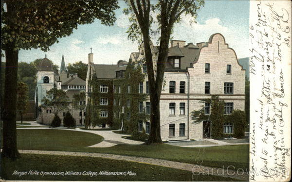 Morgan Hall & Gymnasium, Williams College Willamstown Massachusetts