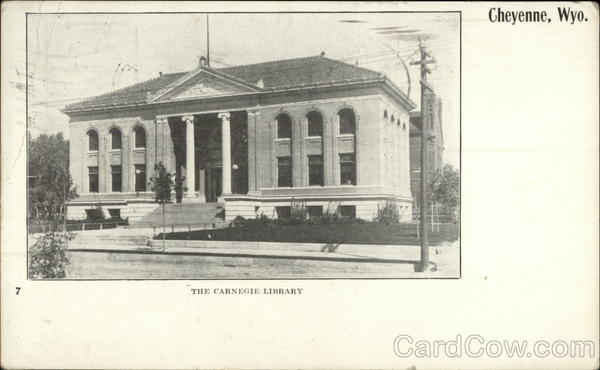 The Carnegie Library Cheyenne Wyoming