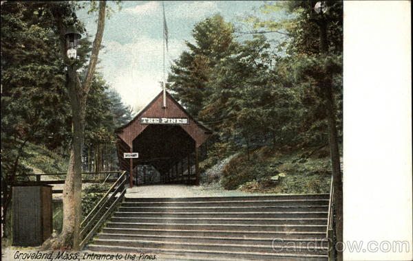 Entrance to the Pines Groveland Massachusetts