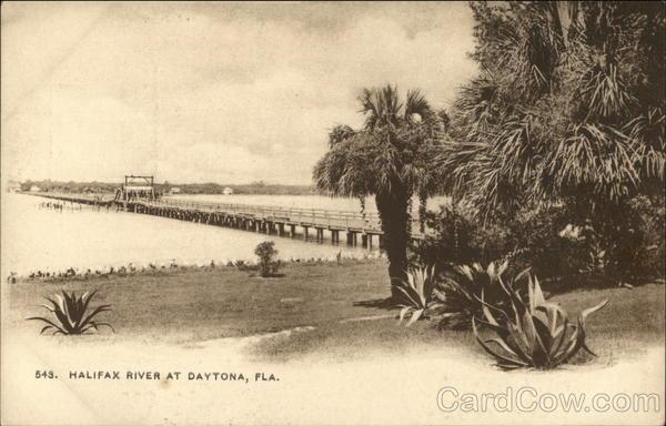 Halifax River Daytona Beach Florida