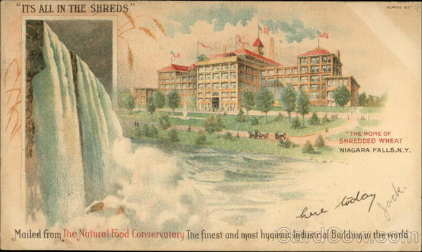 The Home of Shredded Wheat Niagara Falls New York