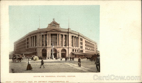 South OR Terminal Station Boston Massachusetts