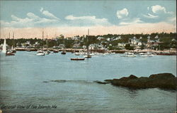 General View of five Islands, Me