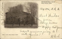 Reynolds Hall - Whitm