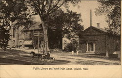 Public Library and North Main Street