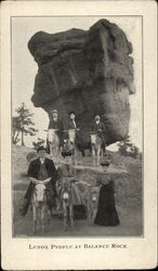 Lenox People at Balance Rock