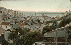Bird's Eye View of Brixham from the Cavern