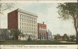 YMCA Bldg., Elks' Temple and National Union Bldg