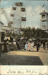 A Combination - Chime Tower, Ferris Wheel, Giant See-Saw