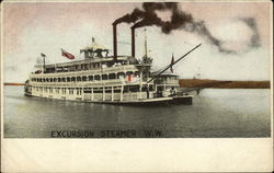 Excursion Steamer WW