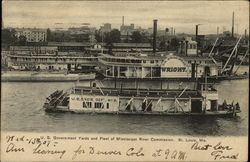 U. S. Government Yards and Fleet of Mississippi River Commission
