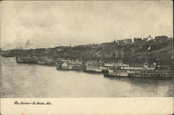 The Levee Postcard