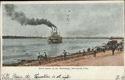 River Scene on the Mississippi