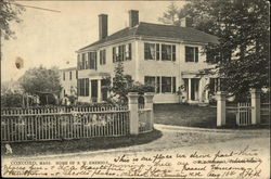 Home of R. W. Emerson