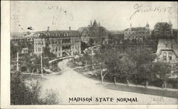Madison State Normal Postcard