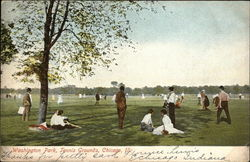 Tennis Grounds, Washington Park