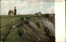 Gay Head Light and Cliffs