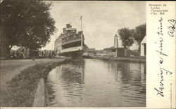 Lord Baltimore Steamer in Locks