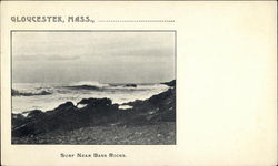Surf Near Bass Rocks