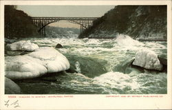 Niagara in Winter, Whirlpool Rapids