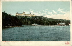 Hotel Champlain from Steamboat Rock