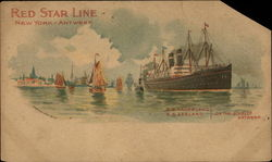 Red Star Line, New York - Antwerp