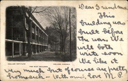 Holland Institute, The East Building Postcard