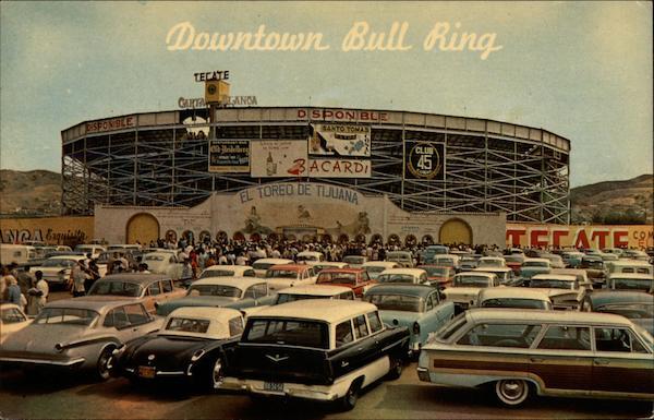 Downtown Bull Ring Tijuana Mexico