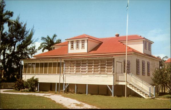 The Premier's House on Southern Foreshore Belize City