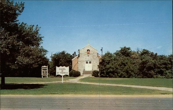 The Chapel of St. Theresa, located on the base Fort Story Virginia