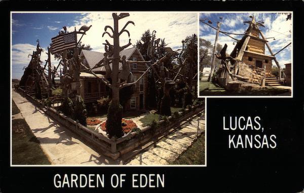 Garden City Ks >> Garden of Eden Lucas, KS