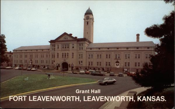 Grant Hall Fort Leavenworth Kansas