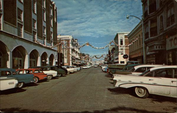 Chanute Kansas Main Street looking West   eBay