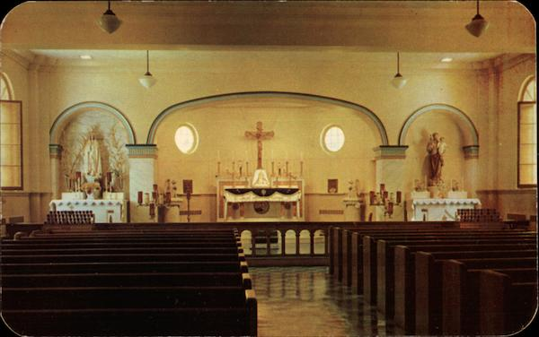 Chapel of Immaculate Heart of Mary Seminary, Capuchin Fathers Geneva New York