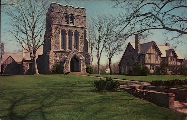 St. Luke's Episcopal Church and Rectory Long Island New York