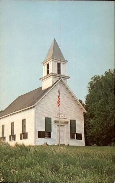 Indian Castle Church, Herkimer County Danube New York