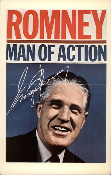 Romney - Man of Action Political