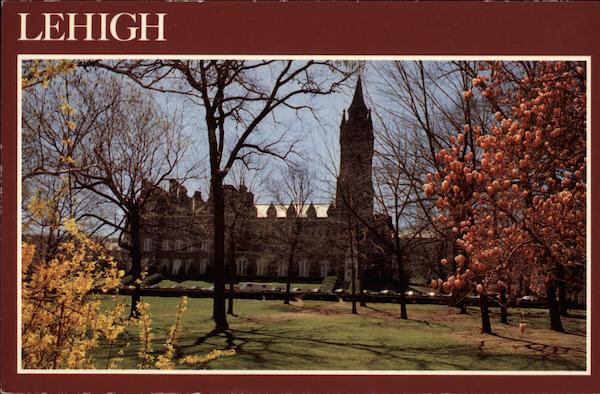 Packer Hall, The University Center, Lehigh University Bethlehem Pennsylvania