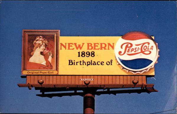 Billboard for Pepsi Cola Modern (1970's to Present)